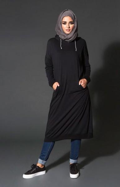b0f5683dfc88a 10 موديلات ملابس محجبات عملية للجامعة.. مريحة وألوانها جذابة