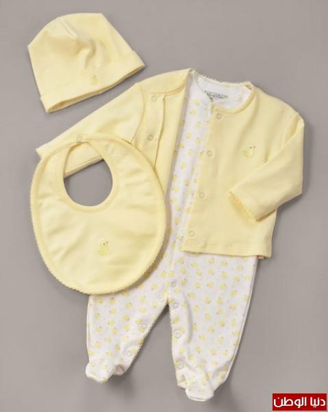 fb1c65ad86a03 بالفيديو .. تعرفي على أحدث ملابس الأطفال حديثي الولادة