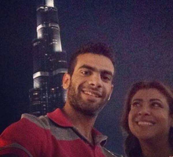 نشوى مصطفى تنشر صورة ابنها للمرة الأولى الشباب وأطول والدته