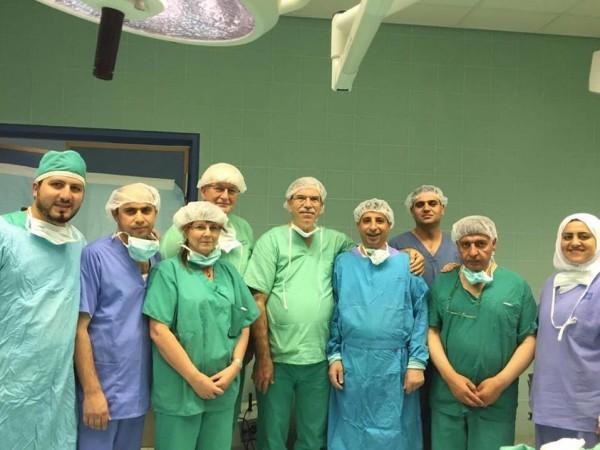 فريق طبي الماني يتمكن من صنع بسمة حقيقة لـ 12 مريضاً بالشفة الارنبية