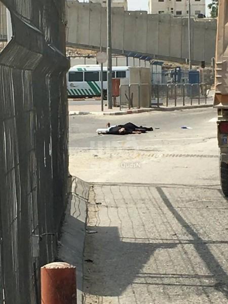 بالصور.. استشهاد فلسطينية بزعم محاولتها طعن جندي صهيوني بالقدس 3910625968