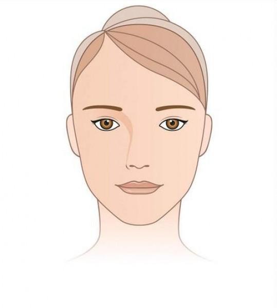 الحواجب المناسبة لشكل الوجه
