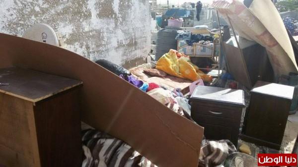 خانيونس:40 لاجئا يعانون منازلهم والجهات 3910729318.jpg