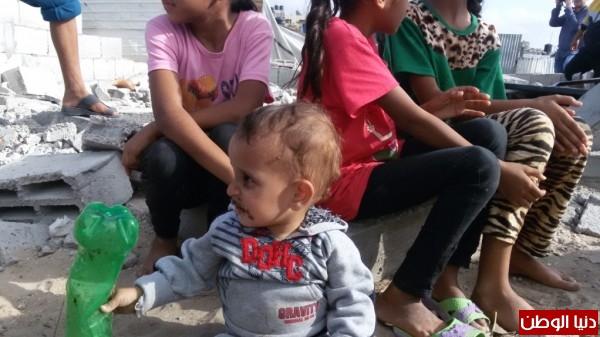 خانيونس:40 لاجئا يعانون منازلهم والجهات 3910729342.jpg