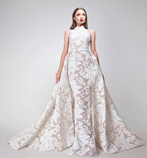 5c2908975 فساتين زفاف بتوقيع المصمم يوسف الجسمي | دنيا الوطن