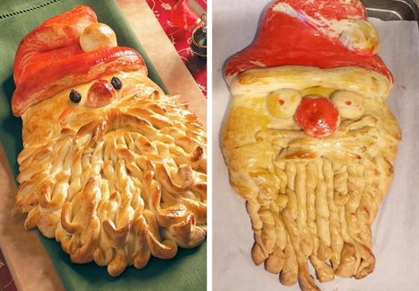 Картинки по запросу decorazioni natalizie con cibo
