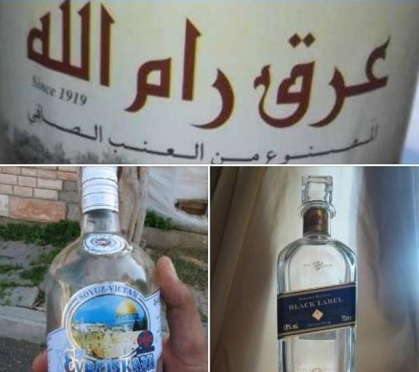 الخمور هل تدخل إلى قطاع غزة وماذا عن ترويج بيعها برام الله عبر