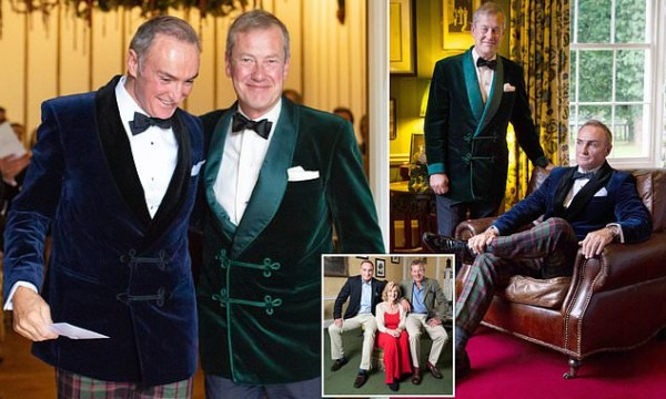 For the first time .. A gay marriage ceremony in the British royal family