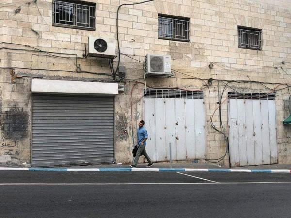 . الإضراب الشامل يَعمُّ الأراضي الفلسطينية 3910912129