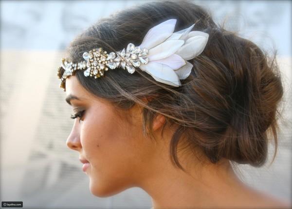 تسريحة مذهلة للعروس 3910912916