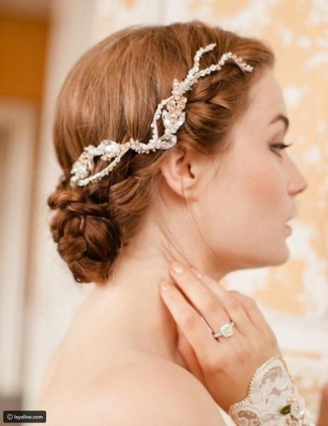 تسريحة مذهلة للعروس 3910912921