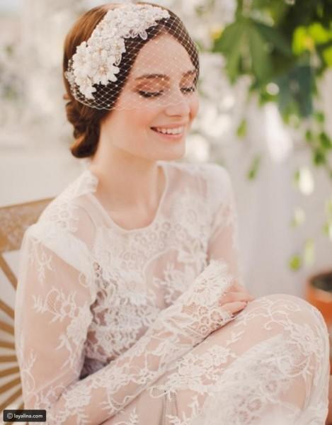تسريحة مذهلة للعروس 3910912923