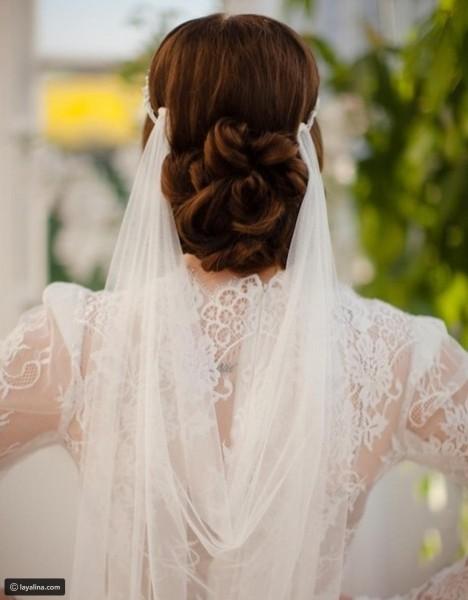 تسريحة مذهلة للعروس 3910912928