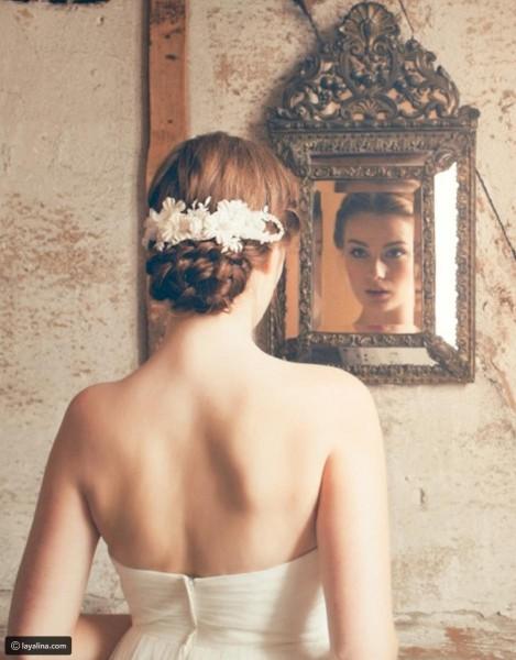 تسريحة مذهلة للعروس 3910912929