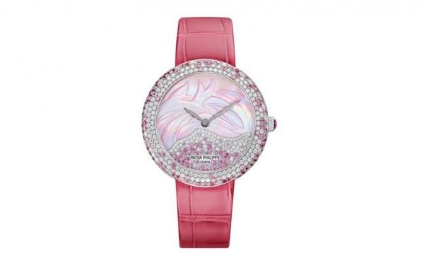 ساعات نسائية كاجوال باللون الوردي الناعم 3910914096