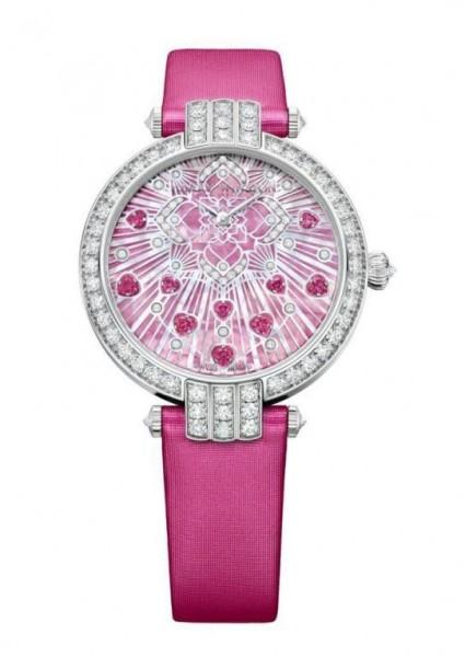 ساعات نسائية كاجوال باللون الوردي الناعم 3910914097