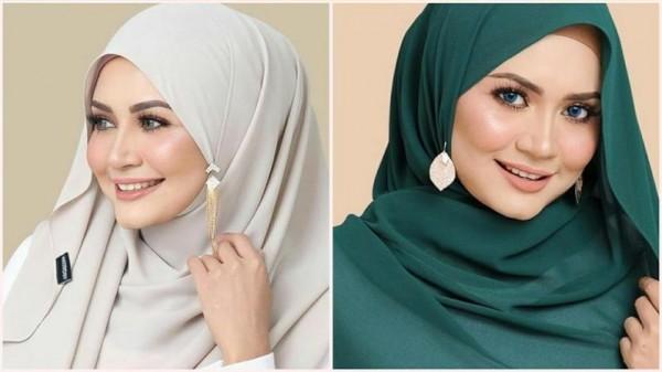 لفات حجاب للوجه الدائري 3910916026