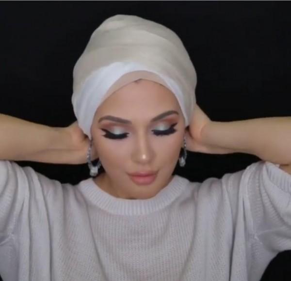 لفات حجاب للوجه الدائري 3910916028