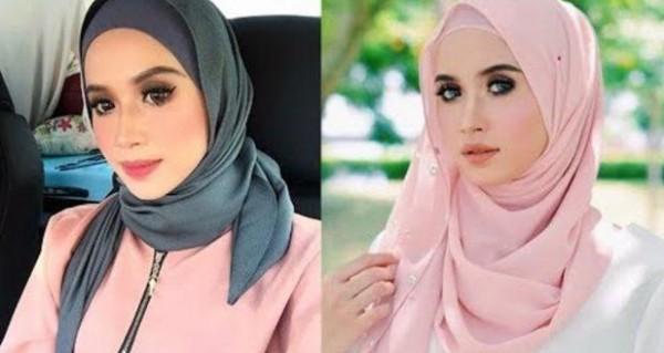 لفات حجاب للوجه الدائري 3910916029