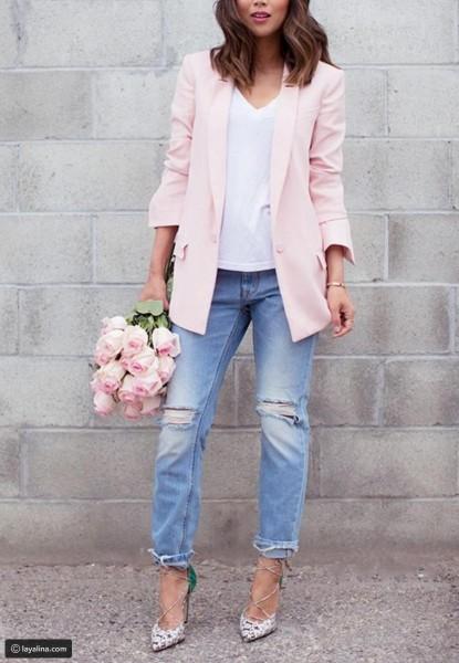 إطلالات أنيقة باللون الزهري لخريف وشتاء 2018 3910918879