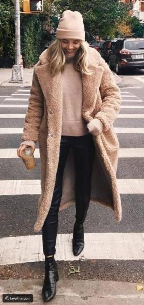 معطف الدب تميمة تألقك في الشتاء القارص 3910926982