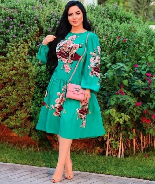 سهير القيسي تتقن تنسيق الأزياء المحتشمة 3910937274