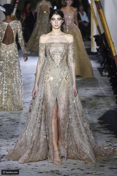 a251ae735cb69 تصاميم إيلي صعب لفساتين زفاف 2018 هي الأكثر فخامة على الإطلاق، التفاصيل  الدقيقة والراقية التي تحملها تجعلها من أجمل وأروع فساتين الزفاف على  الإطلاق، وتمنح ...