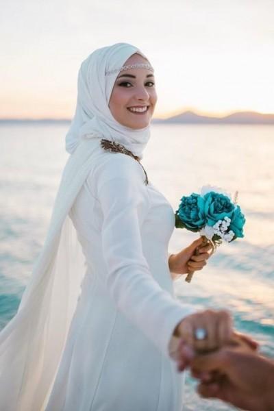 فستان زفاف مناسب لحجابك. 3910938927