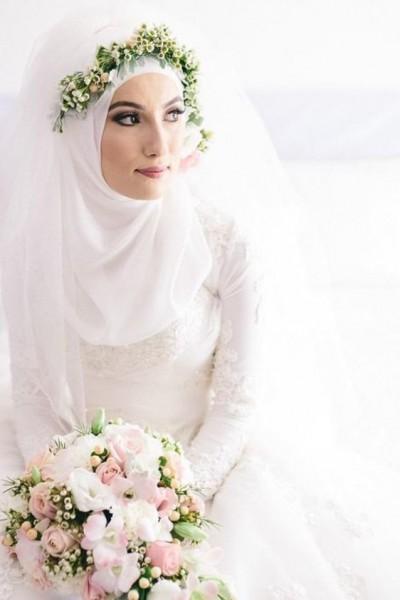 فستان زفاف مناسب لحجابك. 3910938930