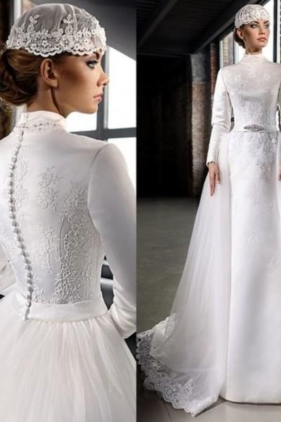 فستان زفاف مناسب لحجابك. 3910938933