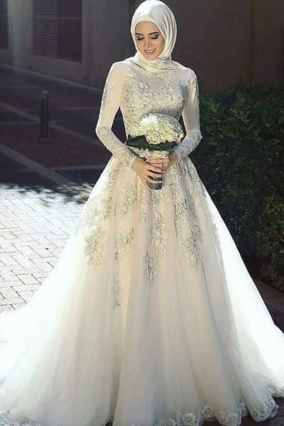 فستان زفاف مناسب لحجابك. 3910938938