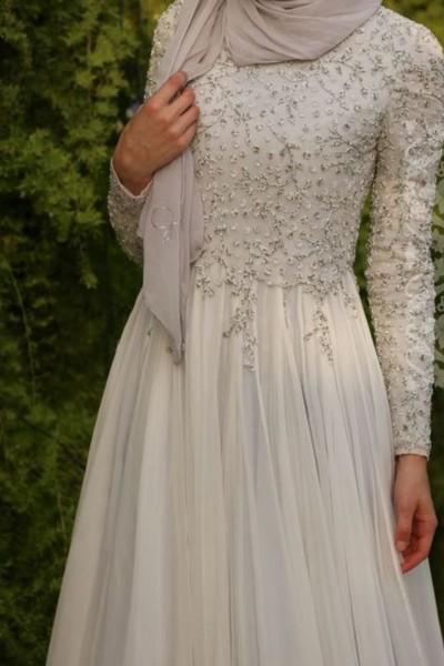 فستان زفاف مناسب لحجابك. 3910938941