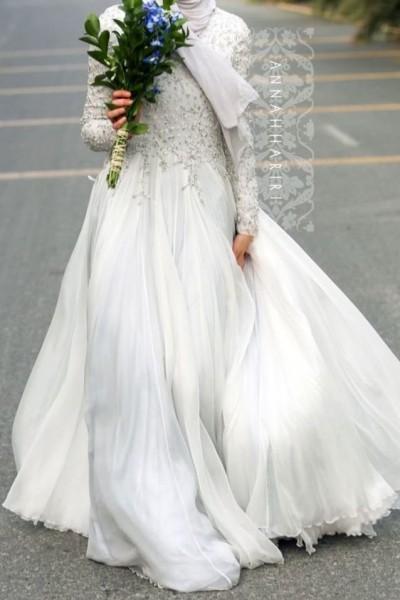 فستان زفاف مناسب لحجابك. 3910938942