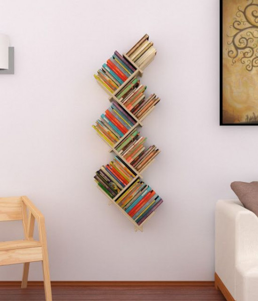 اصنع مساحة مكتبتك المنزلية بطريقة مبتكرة