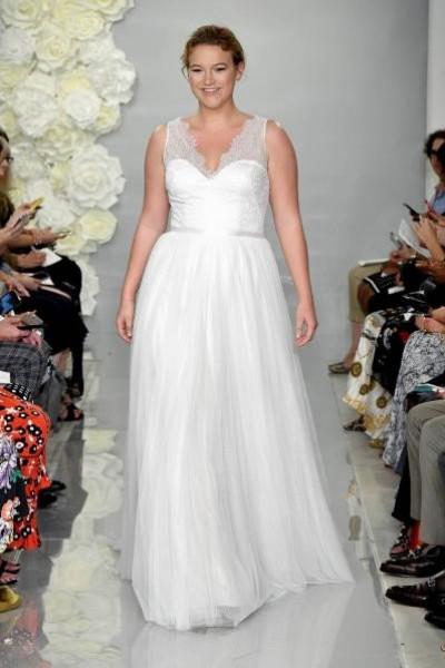 abd266393 أجمل فساتين زفاف 2019 للعروس الممتلئة | دنيا الوطن