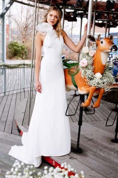 a598223e99131 أحدث فساتين الزفاف لصيف 2020.. تُناسب جميع أنواع الأجسام