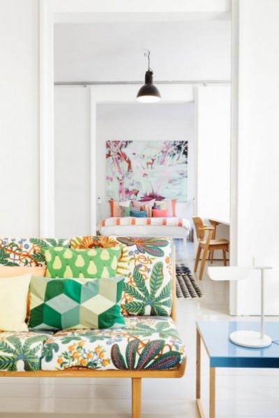 ديكورات مبهجة لغرف معيشة 2019