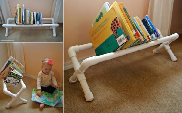 أفكار لتنظيم الكتب غرفة الأطفال
