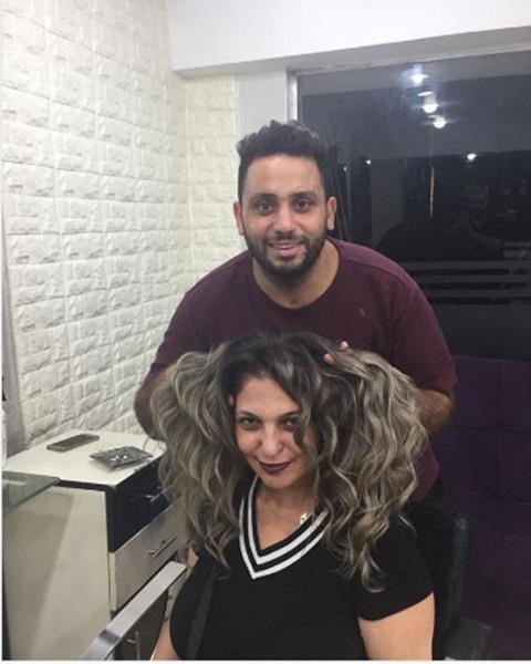 الفنانة نهلة سلامة تخضع لجلسة تصوير جديدة مع المصور أمير الهواري