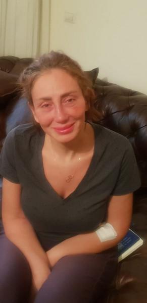 شاهد أول صورة لريهام سعيد بعد مرضها الأخير