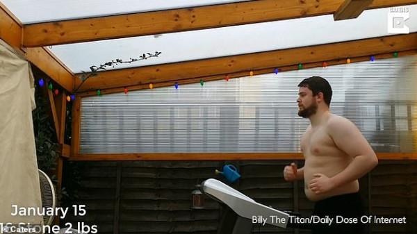 رجل يكشف عن سر فقدانه 27 كيلو جراما من وزنه