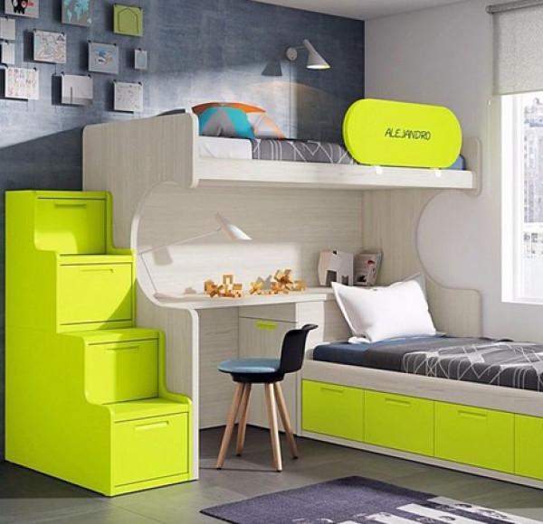 الأثاث الذكي لاستغلال المساحات الضيّقة في غرفة طفلك   3911025767