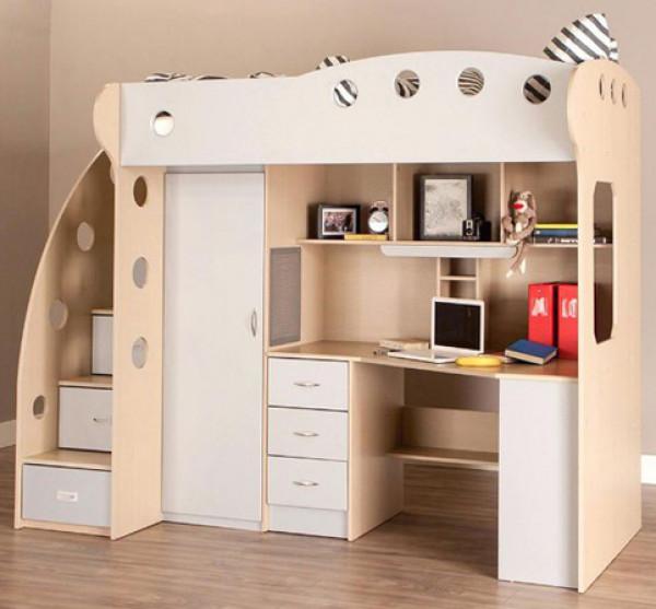 الأثاث الذكي لاستغلال المساحات الضيّقة في غرفة طفلك   3911025771