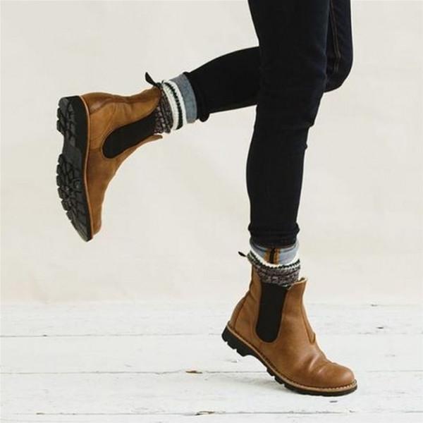 """ankle boots"" بلون جلد النمر والثعبان  3911033224"