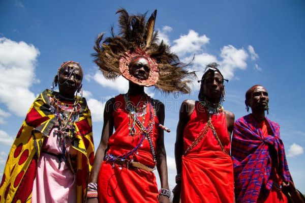 قبيلة الماساي 3911086076