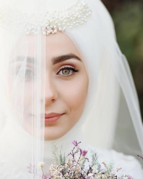 لفات طرح للعروس المحجبه 3911091855