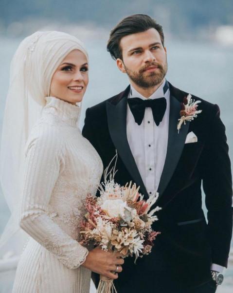 لفات طرح للعروس المحجبه 3911091857