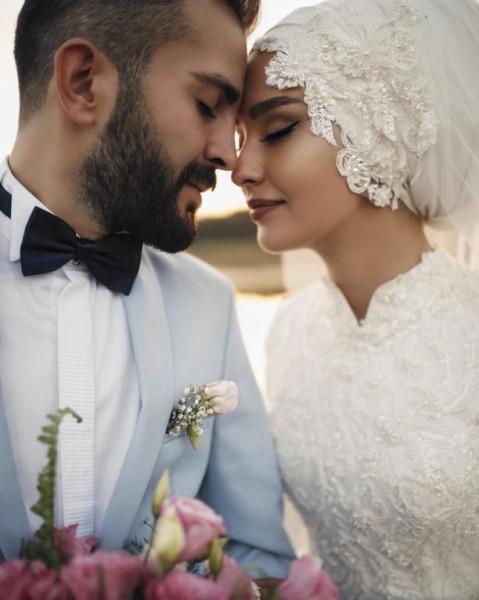 لفات طرح للعروس المحجبه 3911091860