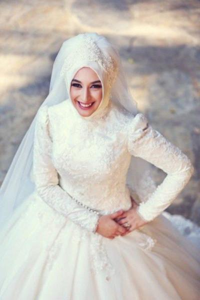 لفات طرح للعروس المحجبه 3911091862