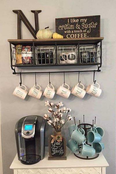 شاهد أفكار متنوعة لتنسيق ركن القهوة كوفي كورنر المنزلي صحافة فلسطين
